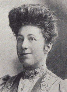 Fig. 2. Miss Flora Pell, Instructress in Cookery at the Melbourne Continuation School, 1906