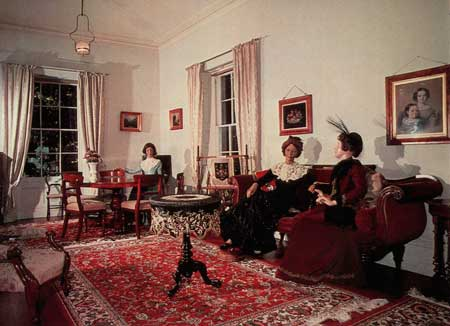 Drawing room with period furniture