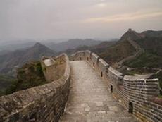 Standing on Ming Dynasty Great Wall at Jinshanling