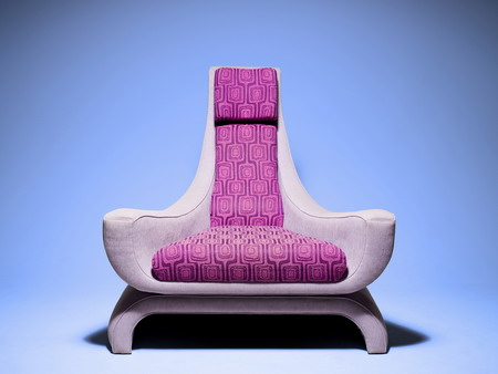 Diary room chair from the reality show Big Brother