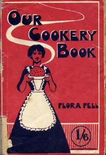 Fig.12. The cover of the 8th edition of      Our Cookery Book published c. 1924