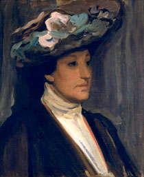 Portrait sketch of Dame Nellie Melba 1902, by Hugh Ramsay (1877-1906), oil on canvas, Collection: National Portrait Gallery, Canberra, Gift of the Mitchell Family and the Fullerton Family 2000