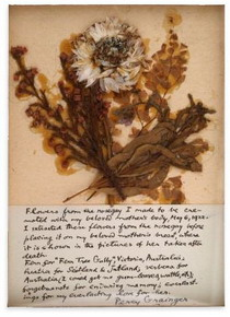 Rose Grainger funeral bouquet