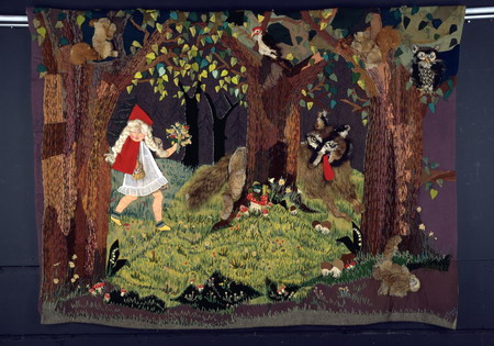 Red Riding Hood Quilt