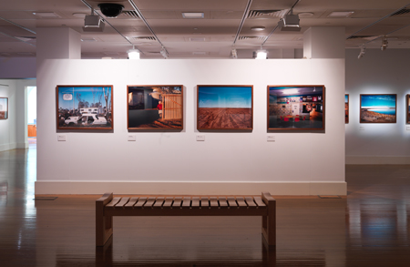 View of the Smalltown exhibition