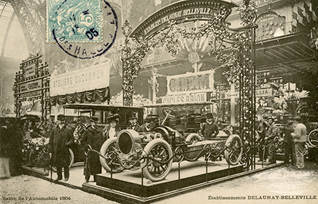 The Palais de l'Automobile at the 1904 Salon de Paris