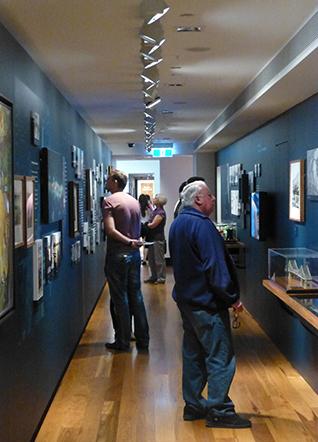 Exhibition corridor