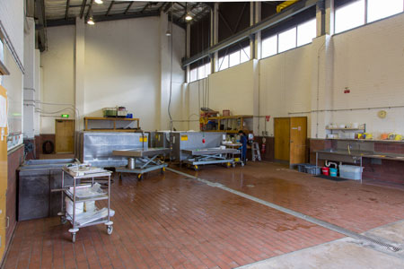 The maceration building at the Bolivar facility, the best of its kind in the world