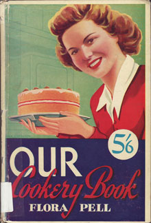 Fig. 13. The cover of the 24th edition of      Our Cookery Book published c. 1950