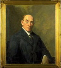Oil painting of MacKenzie by WB McInnes. Copyright National Museum of Australia