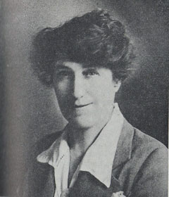 Fig. 14. Miss Flora Pell, 1922