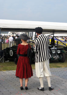 Historic racing and sports cars are at the core of Goodwood Revival's attraction