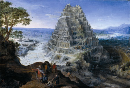 Tower of Babylon painting
