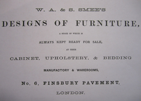 Title page 1870 catalogue