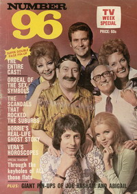 The cover of a Number 96 special edition of TV Week, 1973
