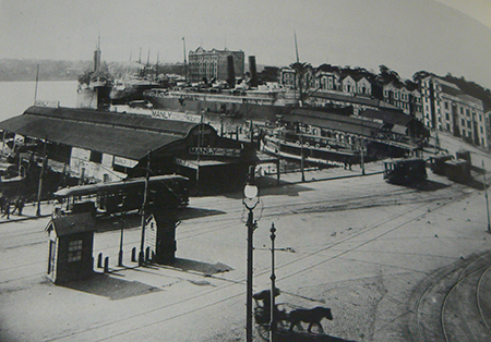 Dalgety's offices at Circular Quay, Sydney, about 1903