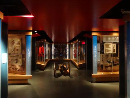 Main gallery of Somerset's Military Museum, Taunton