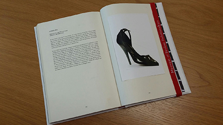 A stiletto shoe
