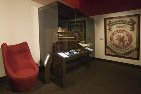 Welsh organ exhibit in AJ gallery