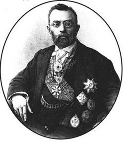 Ferdinand von Mueller portrait about 1890