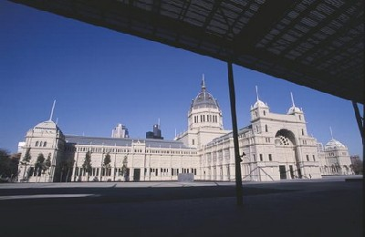 Figure 4. Exterior of the Royal Exhibition Building