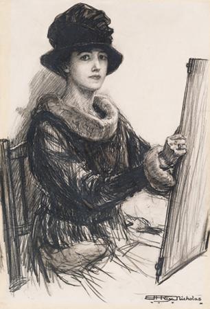 Mrs George Matson Nicholas, c. 1917
