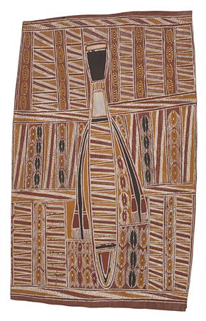 Wagilak Ranga (Elder Sister) bark painting
