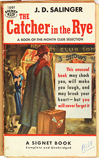 Cover of The Catcher in the Rye, Signet Books, 1953