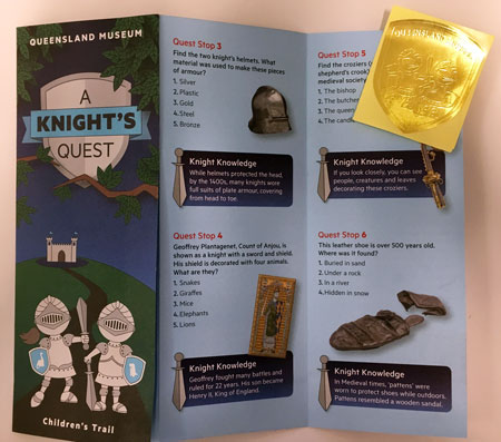 'A knight's quest' children's trail