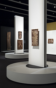 View of the Old Masters exhibition gallery display