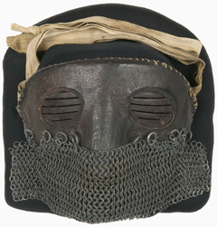 Chain mail mask