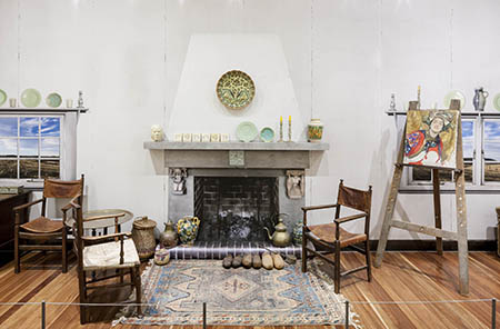 Another view of the Hilda Rix Nicholas's much-loved studio
