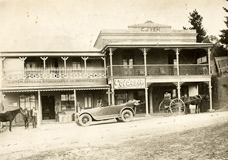 CJ Yen General Store, Old Adaminaby
