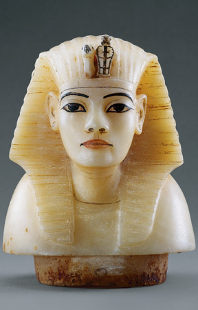 Royal canopic bust