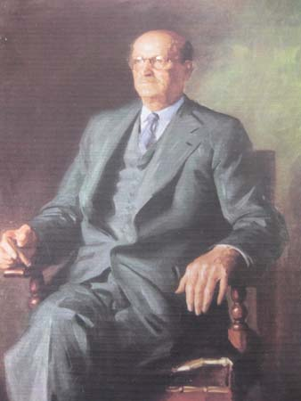 Dargie portrait of James Beveridge Snr.