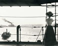 Image of woman on boat