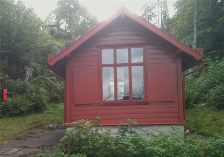 Image of Grieg's cabin, Troldhaugen