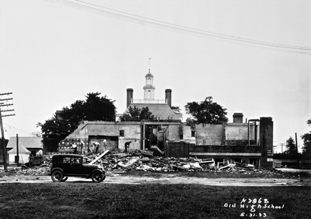 Williamsburg_whaley school demolition