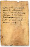 Mary Watson's diary, 1881
