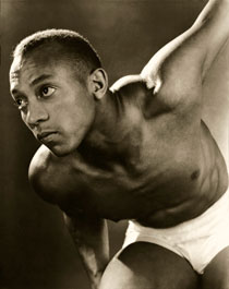 Jesse Owens 1935, published in Vanity Fair September 1935