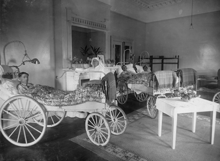 ANZAC hospital ward