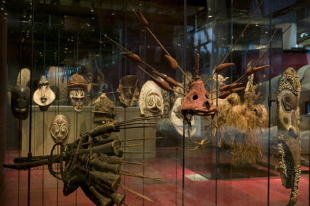 Oceanian masks collection