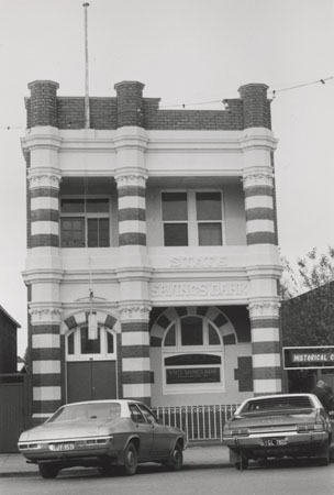 Image of State Savings Bank building, later Historical Centre, Warracknabeal