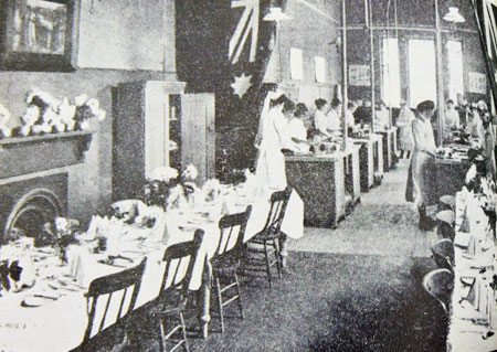 Fig. 6. Cookery classroom, Melbourne Continuation School, c.1906