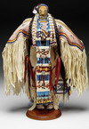 Beaded Amercian Indian Figure thumbnail