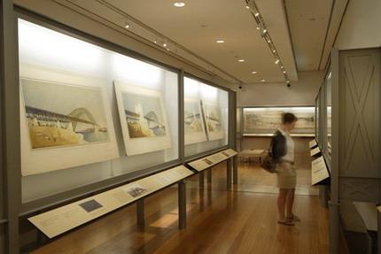 Bridging Sydney exhibition watercolours in Focus Gallery