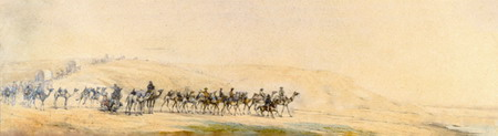 Bourke and Wills Expedition painting