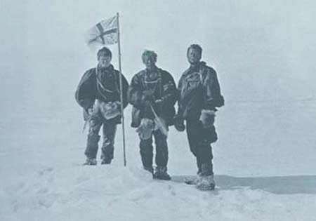 Northern Party at the South Magnetic Pole
