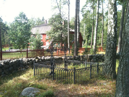 Image of graves, Karuna Church, Seurasaari