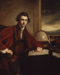 Sir Joseph Banks, Bt, 1771–73, by Joshua Reynolds (NPG 5868)